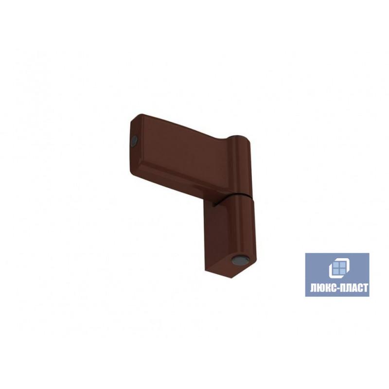 Дверная петля 100 кг аналог KTS коричневая