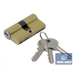 Цилиндр ключ+ключ 35х45 латунь