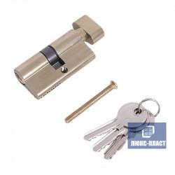 Двухсторонний профильный цилиндр ключ-ручка 40 х 40 мм