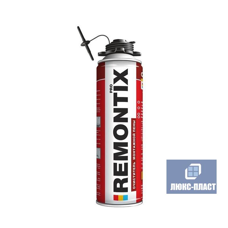 Очиститель незатвердевшей монтажной пены Remontix 500 мл