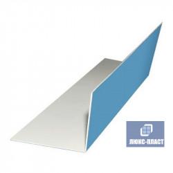 пластиковый угол 70х70 с защитной пленкой