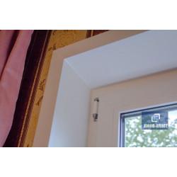 откосы и уголки на окне пвх