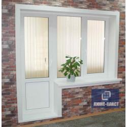 балконный блок с окном