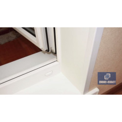 балконный проем с отделкой пластиком