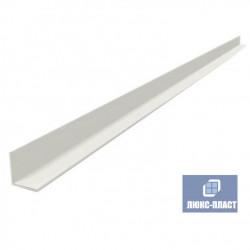уголок пластиковый 10х10 мм белый
