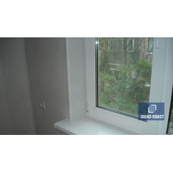 окно пвх с отделкой