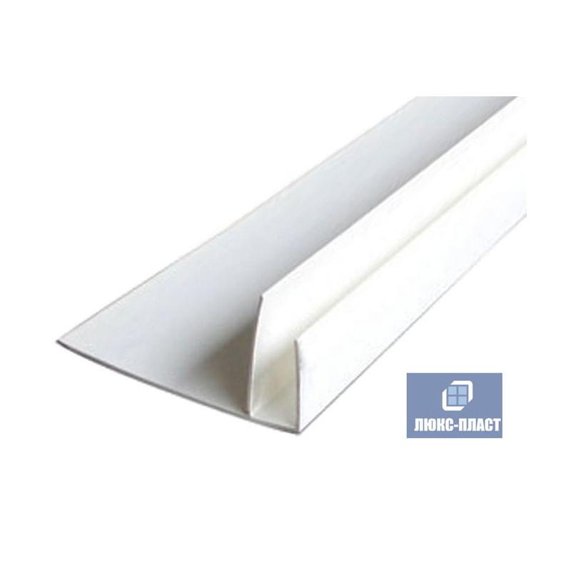 ф профиль пластиковый белый