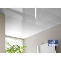 глянцевые панели пвх белые на потолке