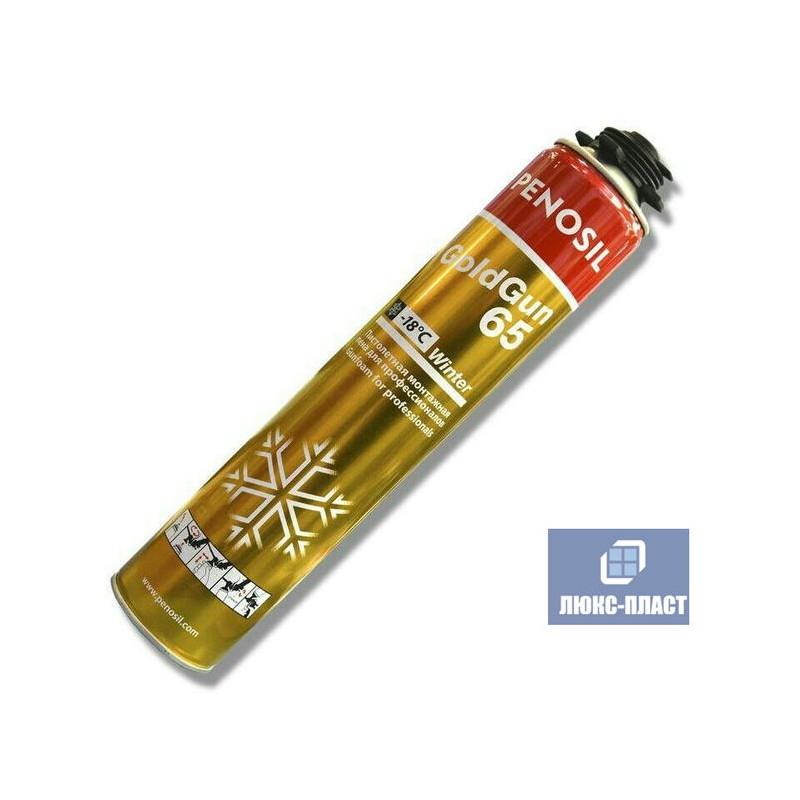 монтажная пена Penosil Gold Gun 65 зимняя 850 мл