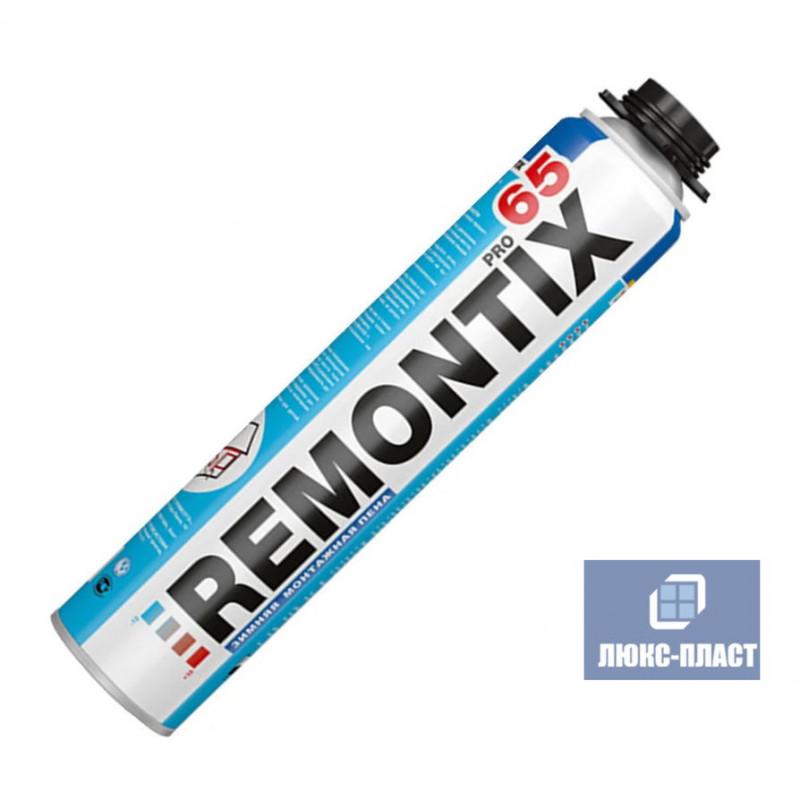 монтажная пена Remontix 65 зимняя 850 мл