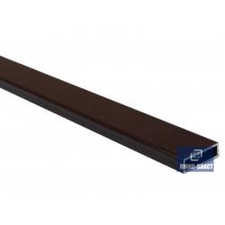 поперечный профиль для москитной сетки коричневый