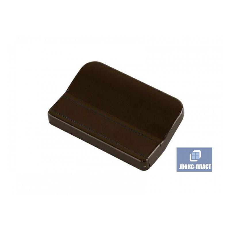 ручка балконная коричневая