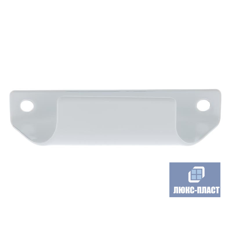 Ручка балконная белая металл