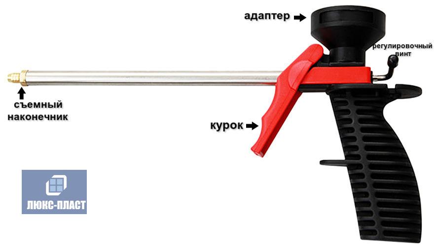 пистолет для монтажной пены Foamgun 112A
